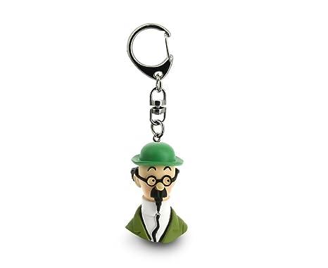 Amazon.com: Llavero cadena busto Tintín La Professor ...