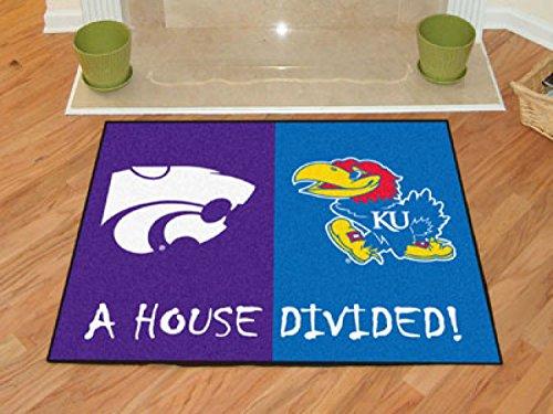 Wholesale House Divided Mat House Divided: Kansas / Kansas State 34
