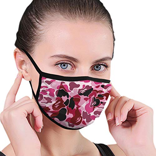 Malcolm Eddie 3D Print Mouth Mask Ba-pe Dustproof Washable Reusable Mask