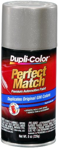 (Dupli-Color BGM0490 Pewter Metallic General Motors Exact-Match Automotive Paint - 8 oz. Aerosol)