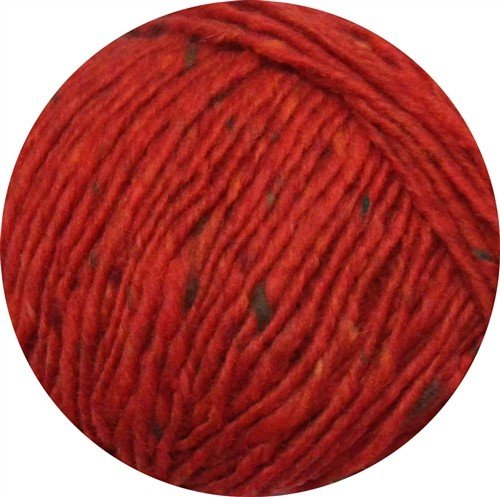 Debbie Bliss Luxury Tweed Aran Yarn 33 Scarlet