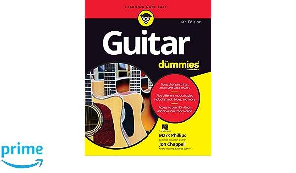 Guitar For Dummies, 4th Edition: Amazon.es: Mark Phillips: Libros en idiomas extranjeros