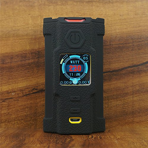 ModShield for SNOWWOLF Vfeng 230W TC Silicone Case ByJojo Cover Shield Skin Wrap (Black)