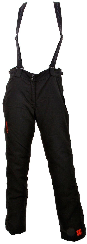 Twentyfour Kinder Ski Hose mit Trägern Geilo - Wasserdichte Ski Hose mit abnehmbaren Hosenträgern
