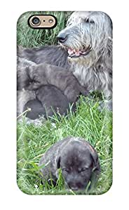 Excellent Iphone 6 Case Tpu Cover Back Skin Protector Irish Wolfhound Puppies