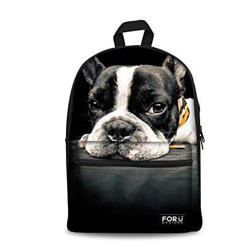 french bulldog back pack - 3