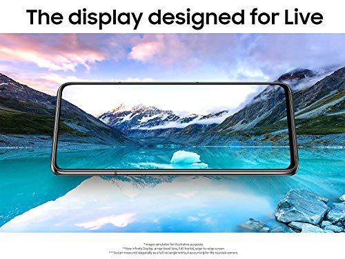 Samsung Galaxy A80 SM-A805F/DS 128GB Dual-SIM (GSM Only, No CDMA) Factory Unlocked 4G/LTE Smartphone - International Version (Silver)