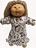 Flannel Nightgown Fits Cabbage Patch Kid Dolls