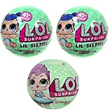 L.O.L Surprise! 2 Lil Outrageous Sisters & 1 Purple Punk Hair Series  Deal (Small Image)