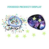 CXPHT Galaxy Painting 20 Rocks with Water Resistant