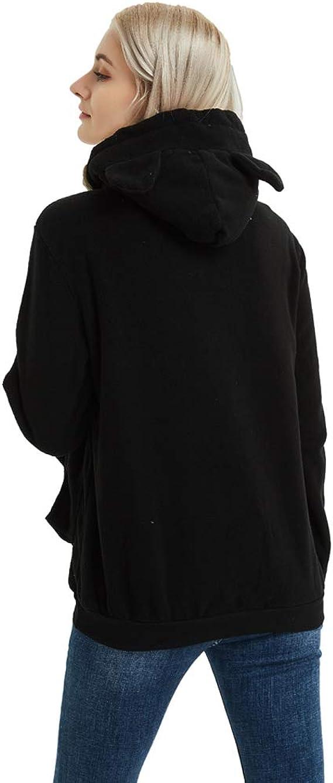Amazon.com: Sudadera unisex de manga larga con capucha para ...
