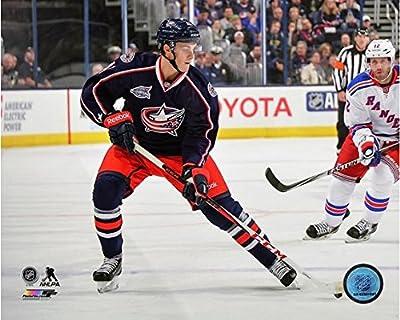 "Alexander Wennberg Columbus Blue Jackets 2014-2015 NHL Action Photo (Size: 8"" x 10"")"