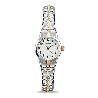 Sekonda Reloj analógico para Mujer de Cuarzo con Correa en Acero Inoxidable 4091.27