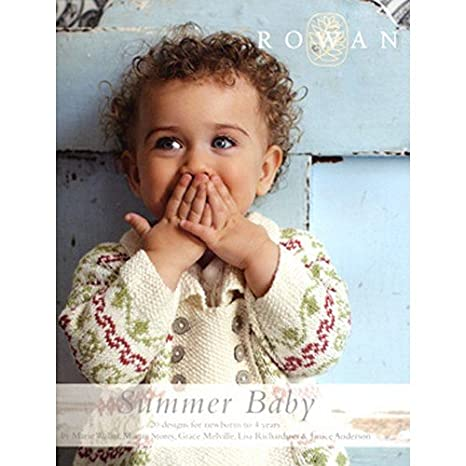 Rowan Summer Baby Knitting Pattern Book