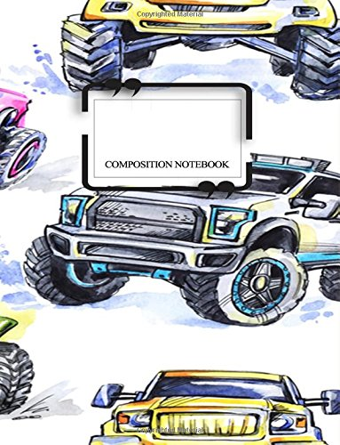Composition Notebook: Grade 3 Back To School Notebooks or A Cool Journal for Boys (Notebooks for School)(Composition College Ruled 8.5 x 11)(V2)