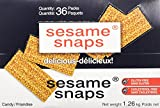 Sesame Snaps – 36 packs x 35 grams (Net weight 1.26 Kg) Review