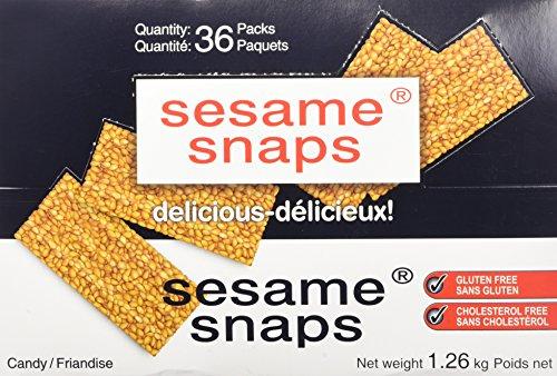 Sesame Snaps - 36 packs x 35 grams (Net weight 1.26 ()