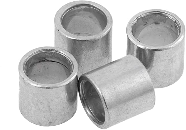 4pcs Skateboard Longboard Bearing Spacers 10mm for Good Speed and Bearing Performance