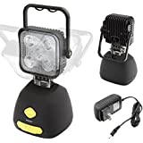 Rechargeable heavy duty super bright 1000 lumens multi-purpose work light camping lantern IP 65 strong magnet