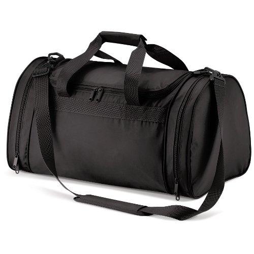 Quadra Unisex Taschen-Sports Holdall-Eine Größe-Black