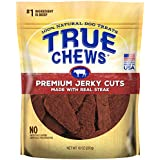 True Chews Premium Jerky Cuts Made with Real Steak 10 oz, 6 Count