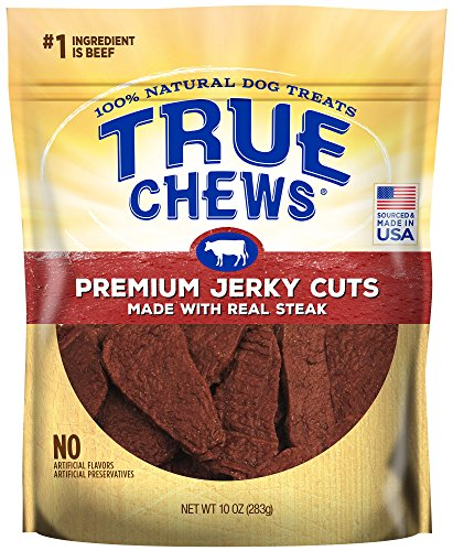True Chews Premium Jerky Cuts Made with Real Steak 10 ()