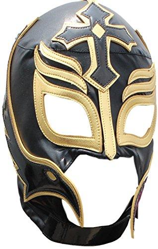 Rey Misterio Lycra Lucha Libre Luchador Wrestling Masks Adult Size Black