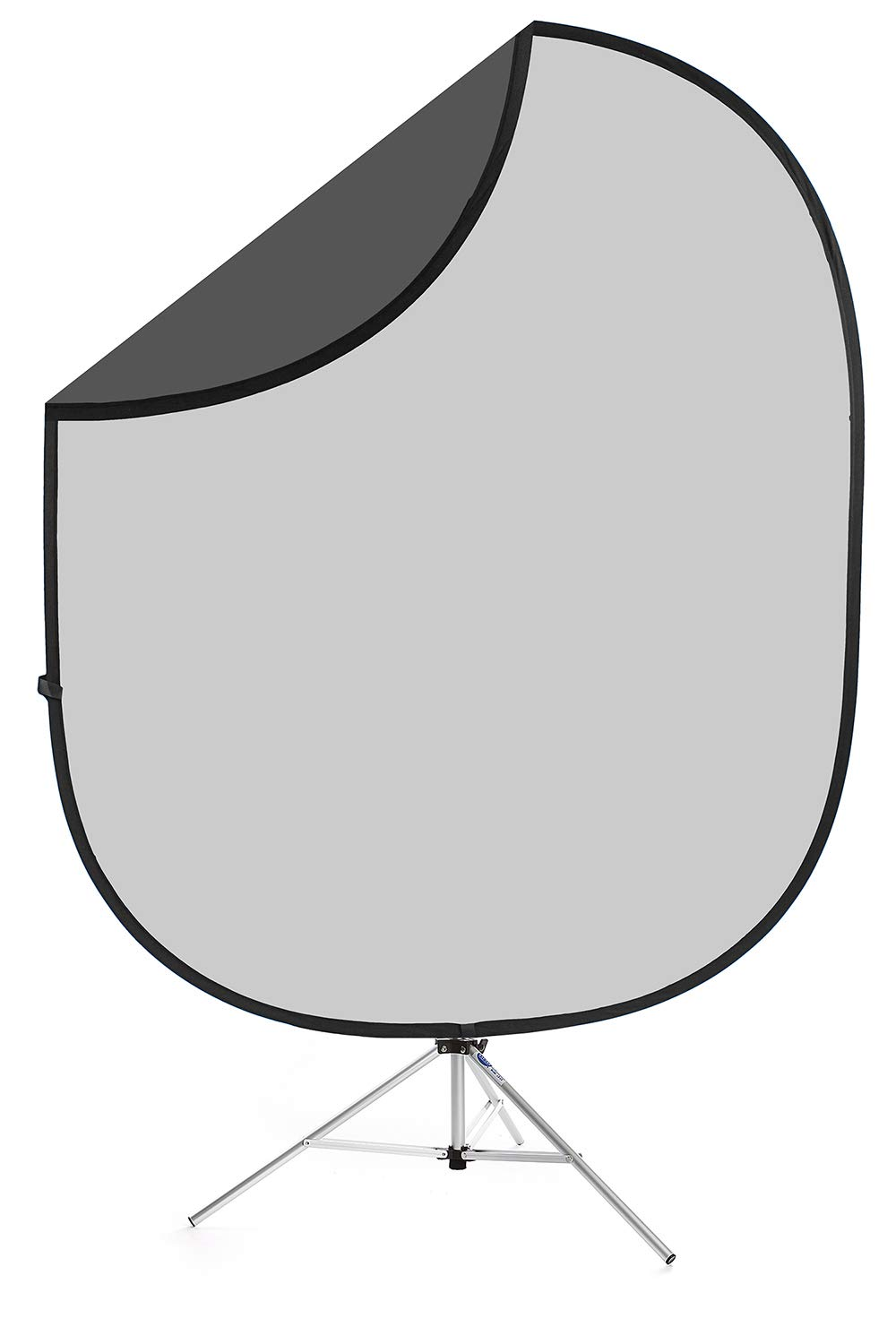 Savage Dark Gray/Light Gray Collapsible Backdrop, 5' W x 6' H by Savage