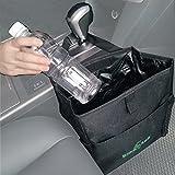 Big Ant Waterproof Car Trash Bag for Little Leak Proof - Car Garbage Bag with Side Pocket(Black)
