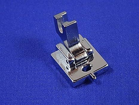 Pie de prensatela para cremalleras invisibles de máquinas de coser ...