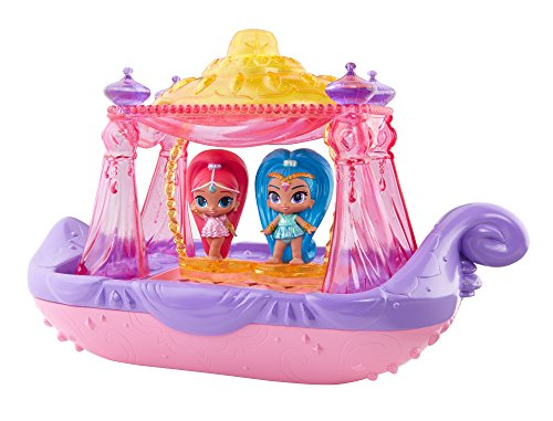 Fisher Price Top - Fisher-Price Nickelodeon Shimmer & Shine, Swing & Splash Genie Boat