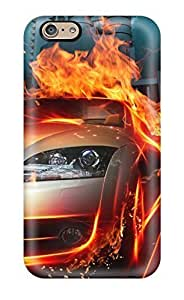 For Ipod Touch 5 Case Cover Case Slim [ultra Fit] Car In Fire City Hq Protective