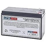 12V 7AH F2 Sealed Lead Acid (SLA) Replacement Battery for APC ES500 ES550 LS500 RBC110 RBC2