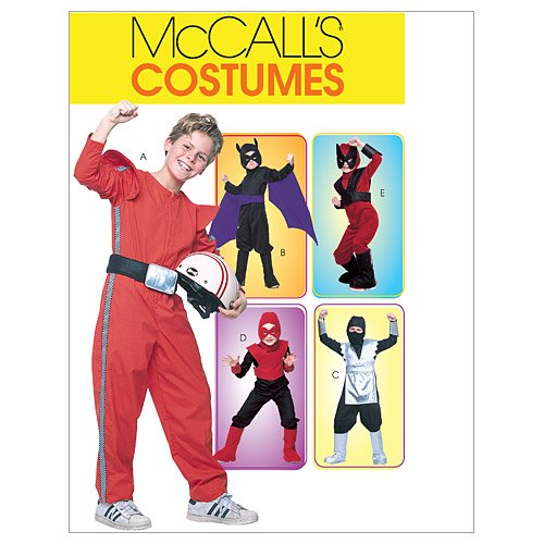 McCall's Patterns M4951 Children's/Boys' Good Guys Costumes, Size