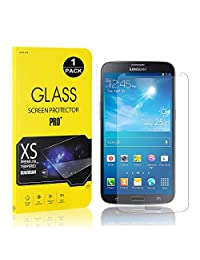Galaxy S4 Screen Protector, Bear Village® Tempered Glass Screen Protector [Lifetime Warranty], 9H Hardness Screen Protector Film for Samsung Galaxy S4-1 PACK