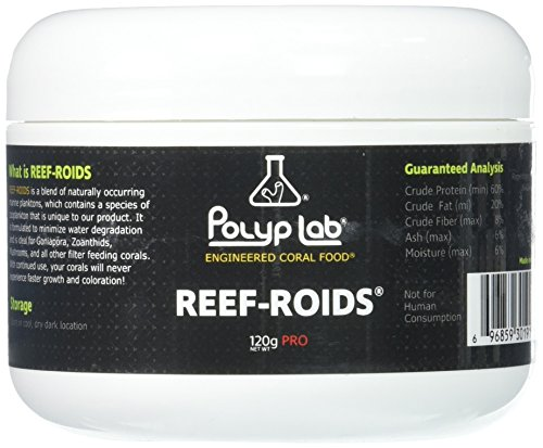 (Polyplab - Professional Reef-Roids - Coral Food for Faster Growth - 120g)