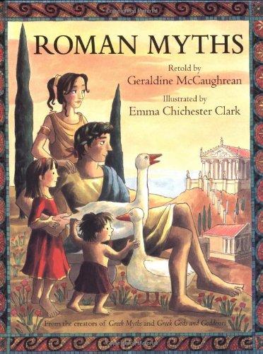 Roman Myths by Brand: Margaret K. McElderry (Image #3)