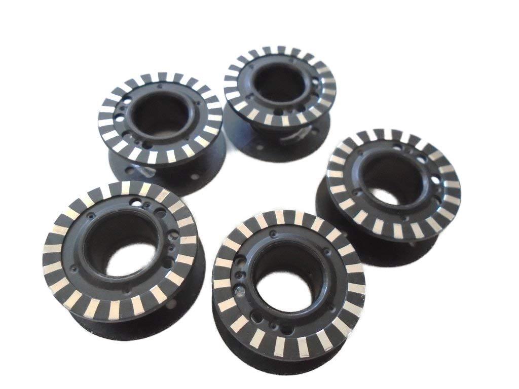 NgoSew 10pcs (2 Packs of 5) Jumbo Bobbins for Bernina 700QE, 740, 770, 790#0332107001 by NgoSew