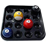 Sterling Gaming Black Plastic Pool Ball Tray