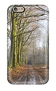 Excellent Iphone 6 Case Tpu Cover Back Skin Protector Road by supermalls