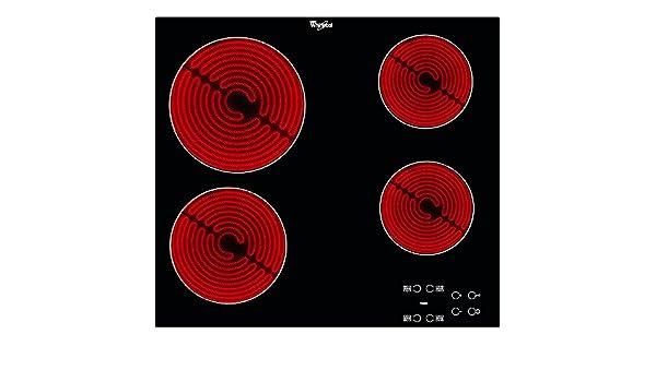 Whirlpool AKT 8090/NE hobs - Placa (Integrado, Cerámico ...