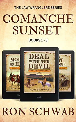 Comanche Sunset: Western Box Set (The Law Wranglers, Books 1-3) (Box Set Western)