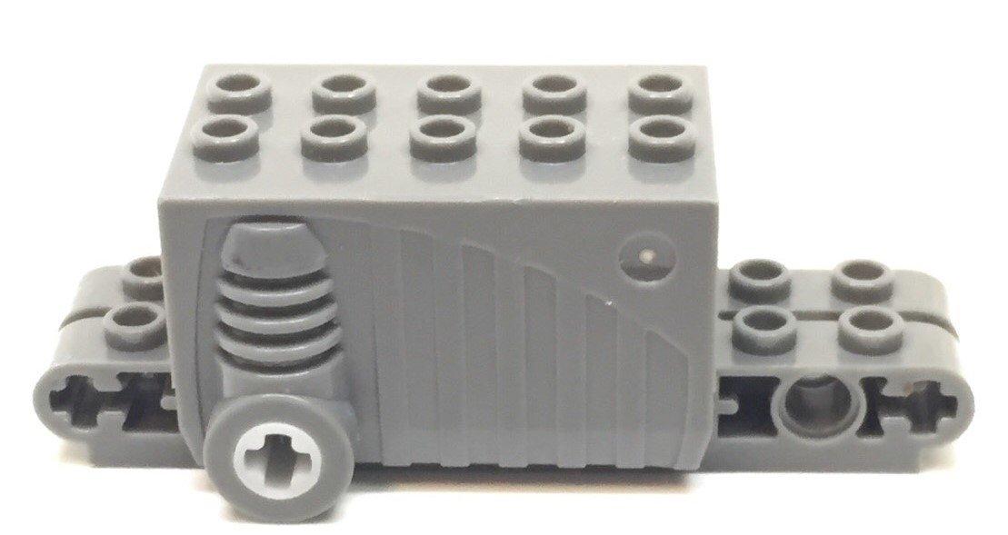 Duplo Engine Block 2 X 2 Light Bluish Gray Lego Motor