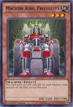 Yu-Gi-Oh! - Machine King Prototype (BP03-EN019) - Battle Pack 3: Monster League - 1st Edition - Rare by Yu-Gi-Oh!