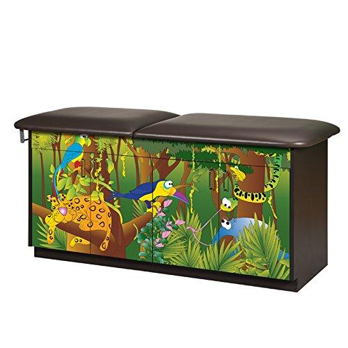CLINTON THEME SERIES TREATMENT TABLES 4 Door table-Rain Forest Item# - Tables Scale Theme Series