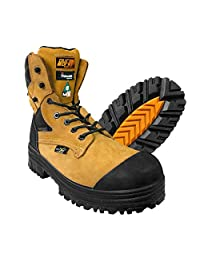 DuraDrive Men's CSA Patron 8 in. Waterproof Insulated Composite Toe Plate Work Boots