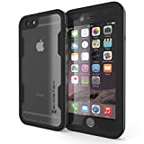 iPhone 6s Plus Waterproof Case, Ghostek Atomic 2.0 Series for Apple iPhone 6 Plus | Full-Body Underwater | Waterproof | Shockproof | Dirt-proof | Snow-proof | Extreme Slim Premium Armor Sealed Protective Heavy Duty Hybrid Impact Transparent Hard Cover Carrying Case with Attached Screen Protector | Lifetime Warranty Exchange | Aluminum Metal Frame | Adventure Ready | Ultra Fit (Not for iPhone 6 4.7-Inch) (Space Gray)