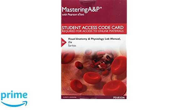 Amazon.com: Mastering A&P with Pearson eText -- Standalone Access ...
