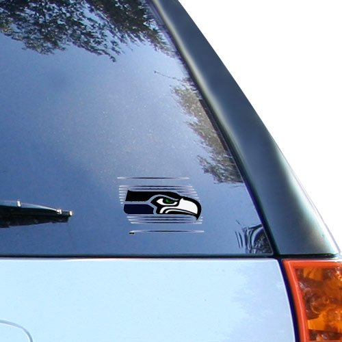 (Wincraft NFL Seattle Seahawks Static Cling Decal, 3