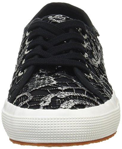 Superga Sneaker Basse Adulto Macramew Unisex SILVER BLACK 2750 w4r4qS